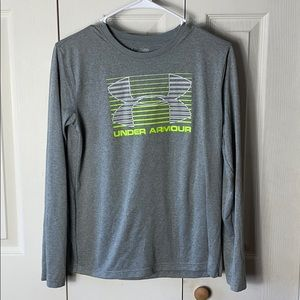 Boys Under Armour Long Sleeve Tee